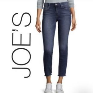 Joes | Blue Skinny Ankle Denim. Blanche
